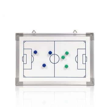 Durable using magnetic basketball soccer coaching board with aluminum frame