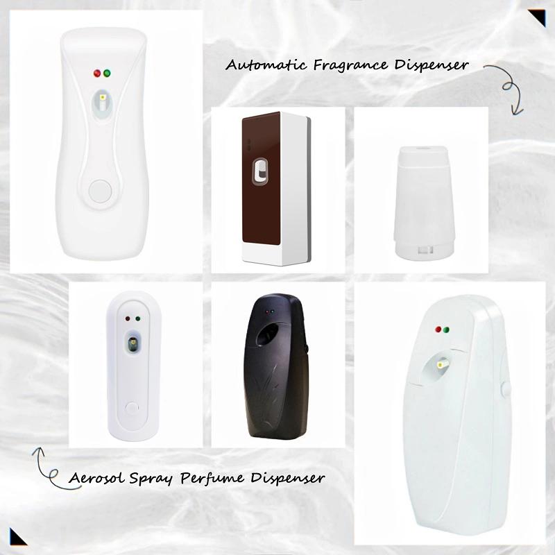 Nuevo diseño de alta calidad de la batería temporizador automático aroma habitación baño aire dispensador de fragancia