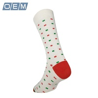 Special Customised Dots Hearts Argyles Business Dress Socks for Female Male