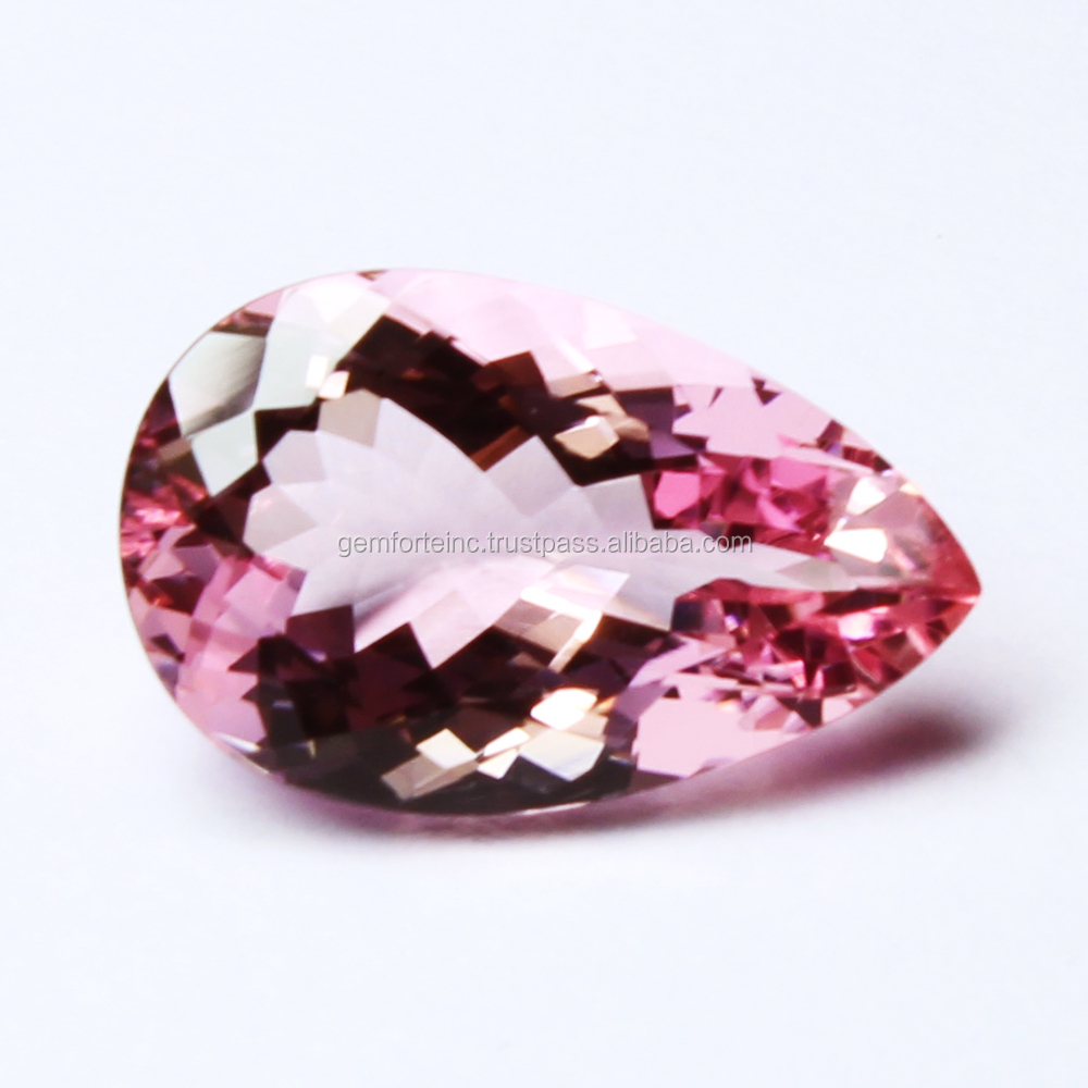"13X18mm Pink Morganite Oval Gemstone Loose Bead 15/"" AAA"