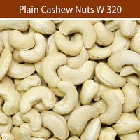African Origin Dried Cashew Nuts & Cashew Kernels Supply from India Sizes W 180 to W 450