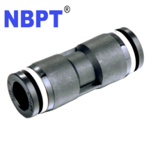 Pu Een Touch Gelijk <span class=keywords><strong>Unie</strong></span> Straight Push To Connect Fittings Tube Pu Serie