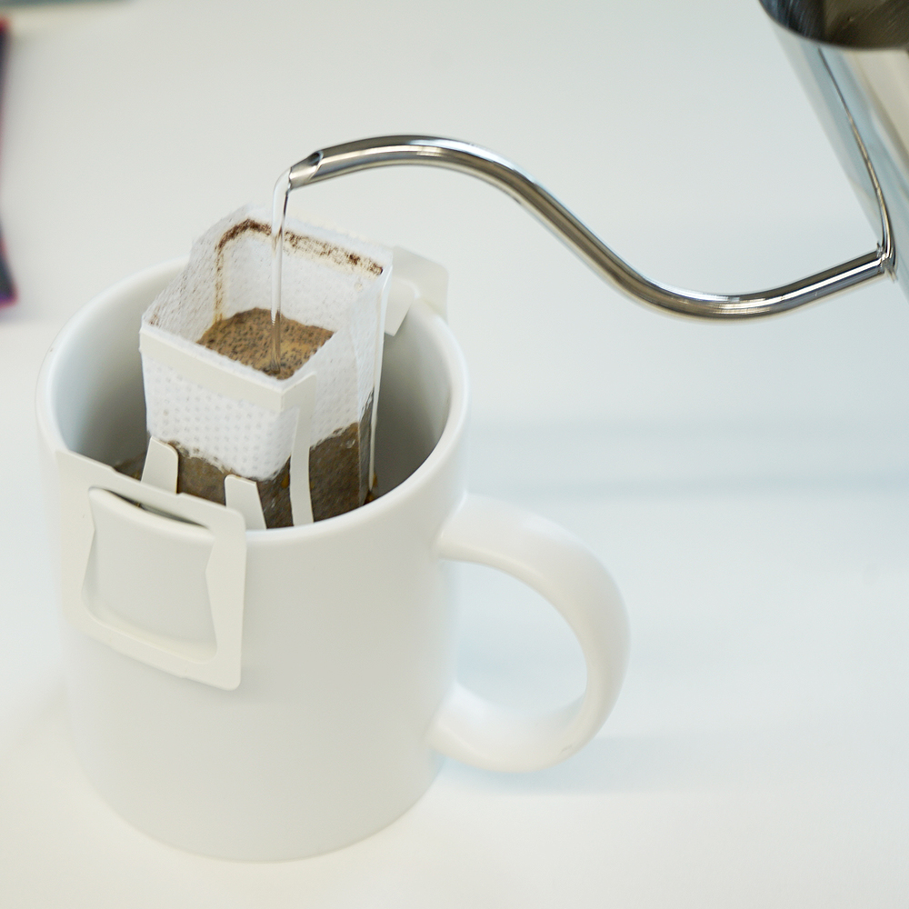 1kgcoffee 100% Roasted Ground Portable Dripbag Coffee Set (8 flavor 3bags/0.35oz)