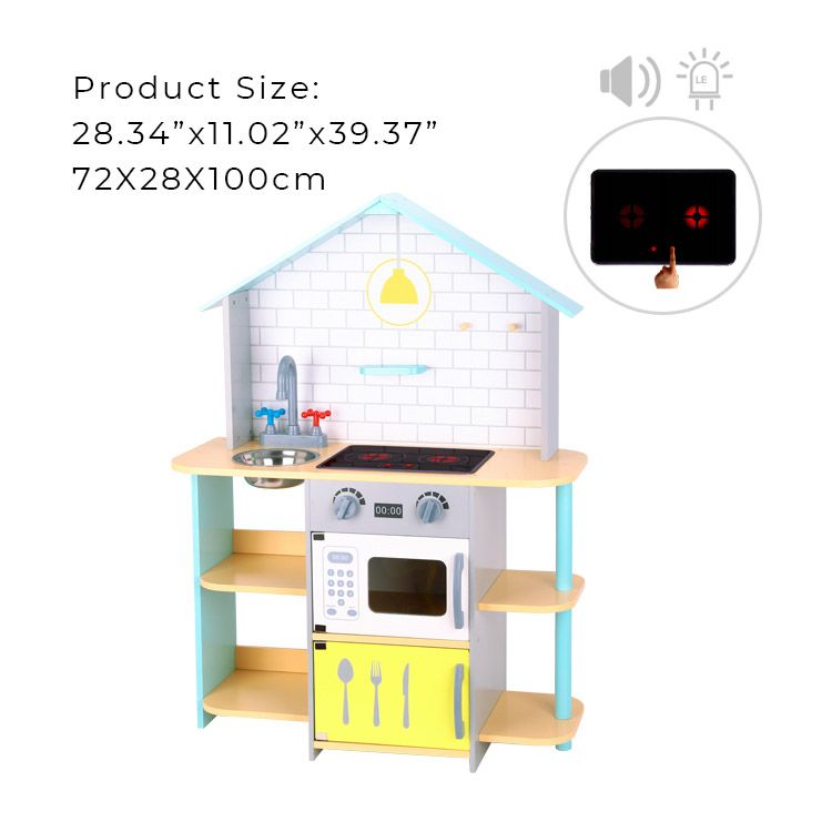 Hot new products kitchen kid children toy wooden kitchen sets toy