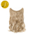 Pearlcoin Hot Selling Cheapest High Temperature Fiber Blonde 613 Curly Wavy One Piece Weft Extensions Secret Wholesale