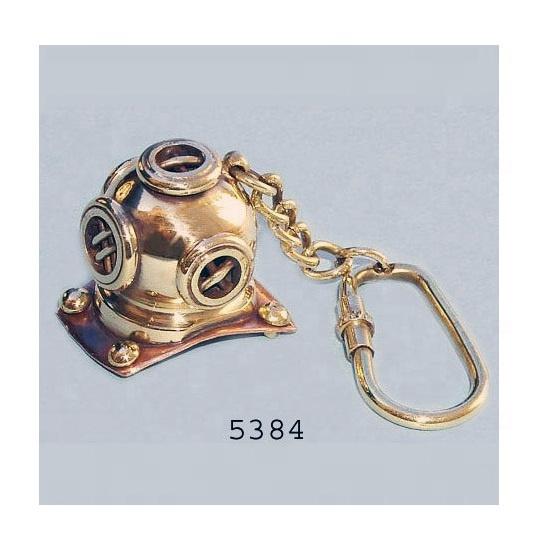 Nautical Marine Ship Bell Brass Finish Keychain