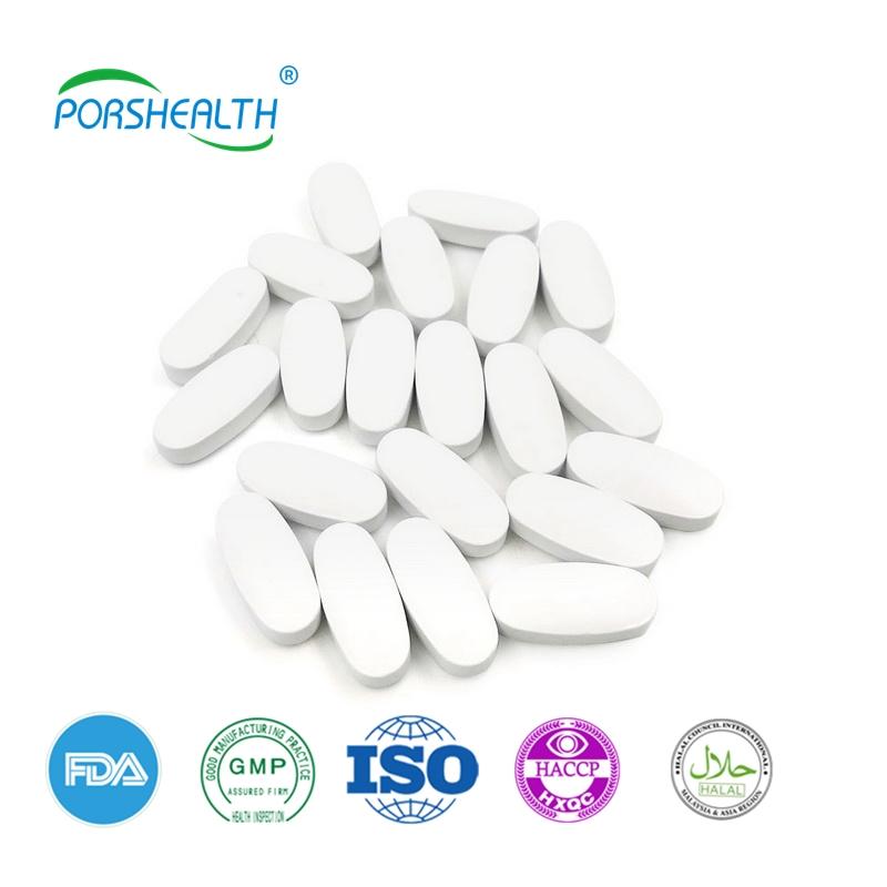 Porshealth OEM medicinal plant flu symptoms and treat cold Elderberry tablets capsule