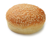 Quality frozen foods round bread buns with sesame seeds for burgers