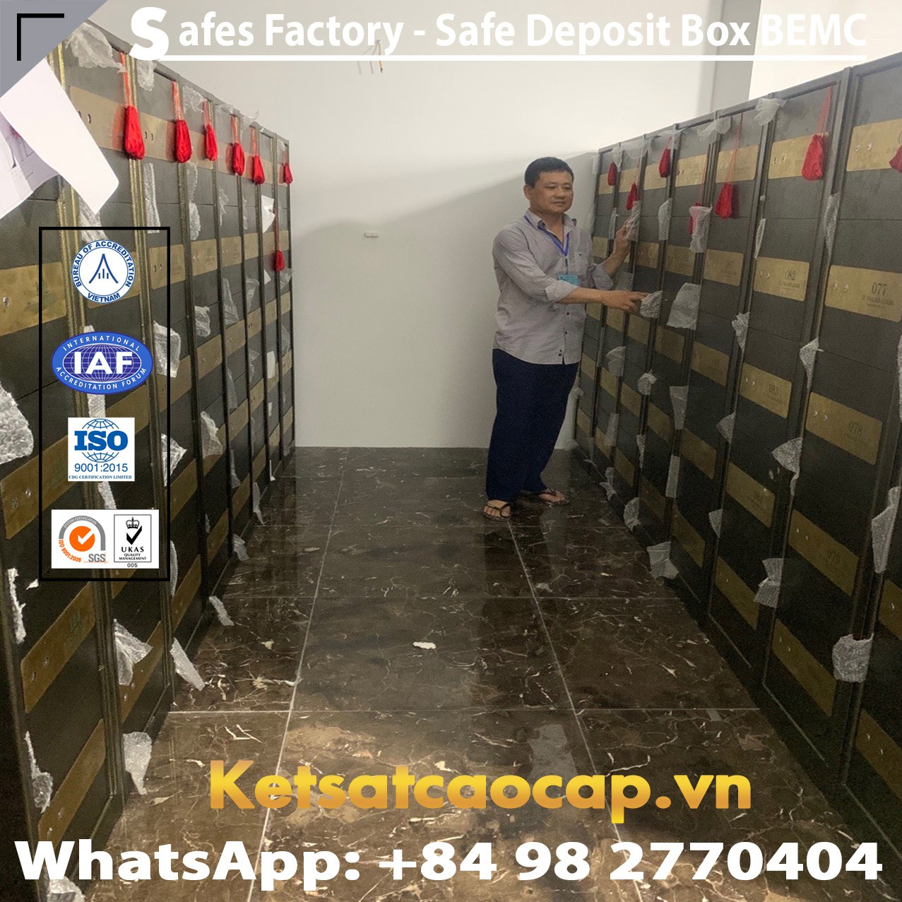 Viet Nam Safe Deposit Box | Trusted and Audited Suppliers