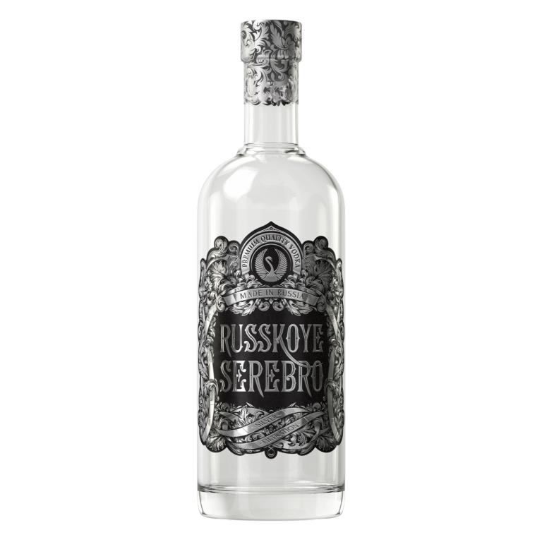 Russian Silver Vodka 1000 ml