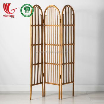 New Product Natural Rattan Folding Screen Dividers Wholesale