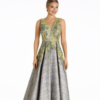 Best Price Woman Clothing A cut brocade dress