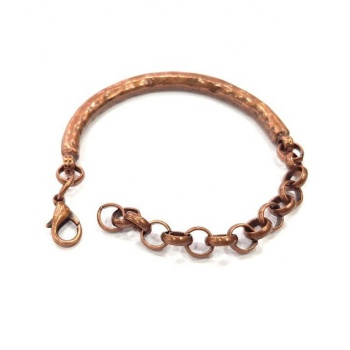 NEW COPPER BRACELET VINTAGE LOOK BRACELET copper chain bracelet