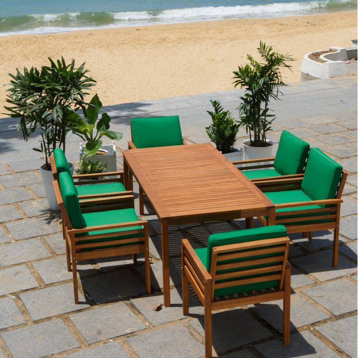 Eucalyptus Wood Outdoor Furniture Kd