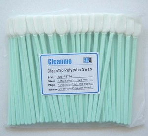 Factory Direct  Large TX714A  Compatible Flat Cleanroom Swab
