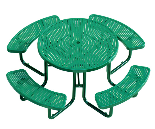 Buy Commercial Metal Outdoor Picnic Table