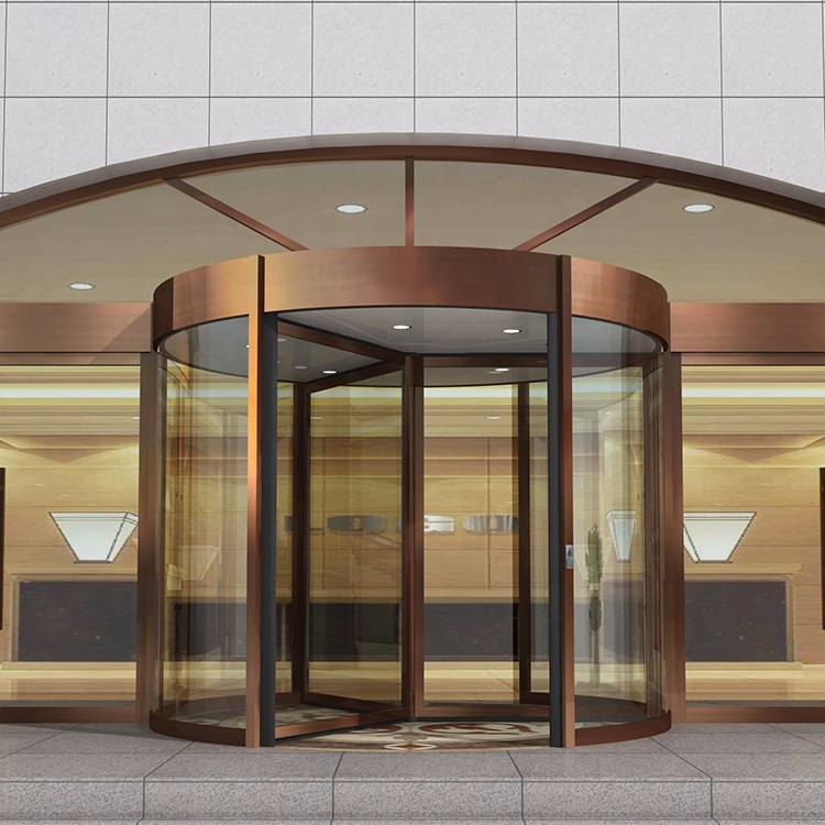 Electric Automatic 3-leaf Revolving Door