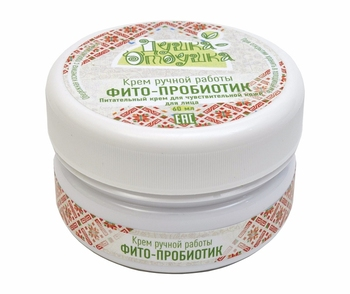 Phyto-probiotic nourishing face cream for sensitive skin