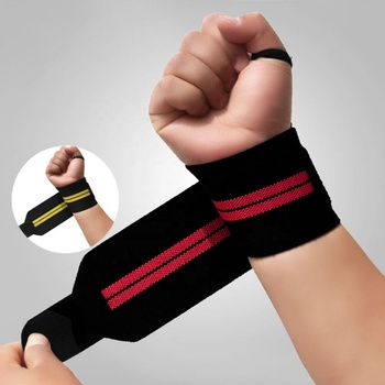 Hot Sell Amazon Lifting Wrist Straps Custom Wrist Wraps For Fitness
