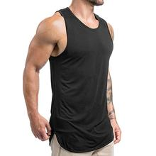 Cut <span class=keywords><strong>off</strong></span> t shirt für männer bodybuilding OEM fitness weste workout muscle tank