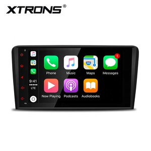 "XTRONS 8"" android 9.0 4+64GB car video player for Audi A3 8P/S3 8P with gps/bluetooth/ steering wheel control"