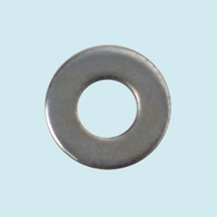 Steel galvanized zinc plated metal flat washer
