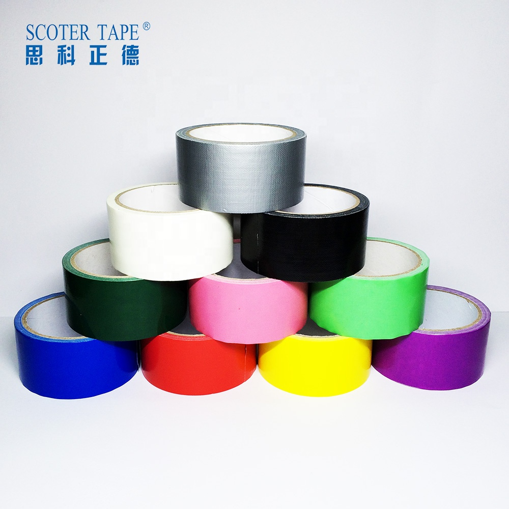 factory direct sales cloth neon heavy duty tape