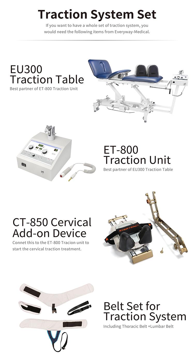 ET-800 dispositivo de tracción para la tracción terapia uso