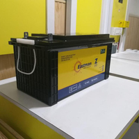 EM150SMF solar street light battery