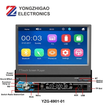 Video Player Music Bluetooth Mp3 for Car Multimedia System Auto Estereo Mp5 Car Audio