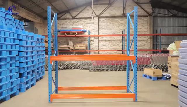 HEDA Fabbricazione Heavy Duty Rack Magazzino Pallet Rack di Impilamento Rack con il prezzo ragionevole