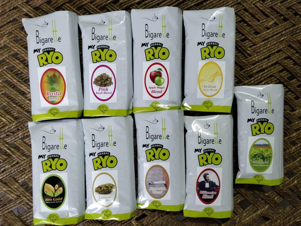 Lemon Skunk Haze green Herbal Blends with Terpene Indica Sativa kush Blends Blueberry OEM Bulk RYO Blends