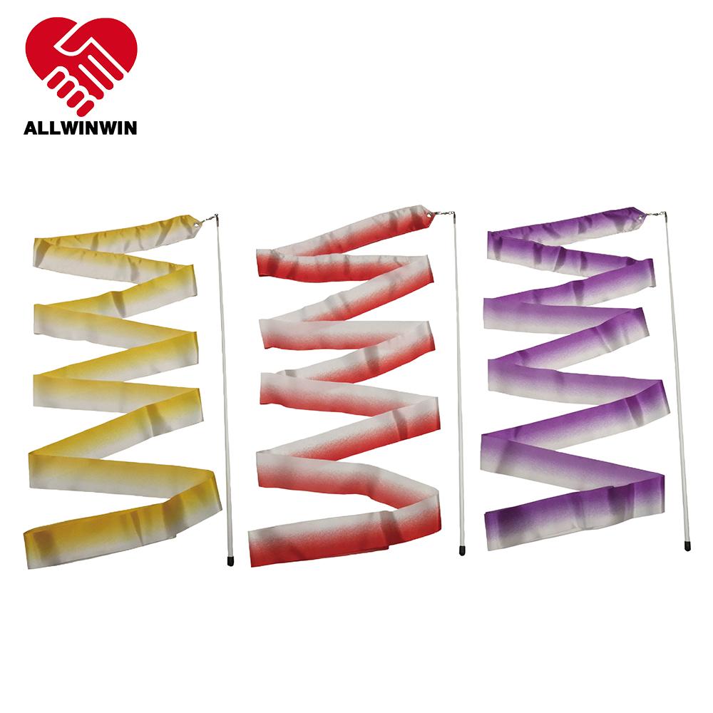 Rhythmic Gymnastics Ribbon - Bicolor 4/5/6m Training Dance