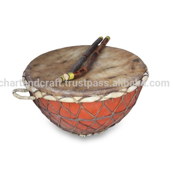 traditional Indian nagada drum traditional musical instrument India Dholak Tabla set