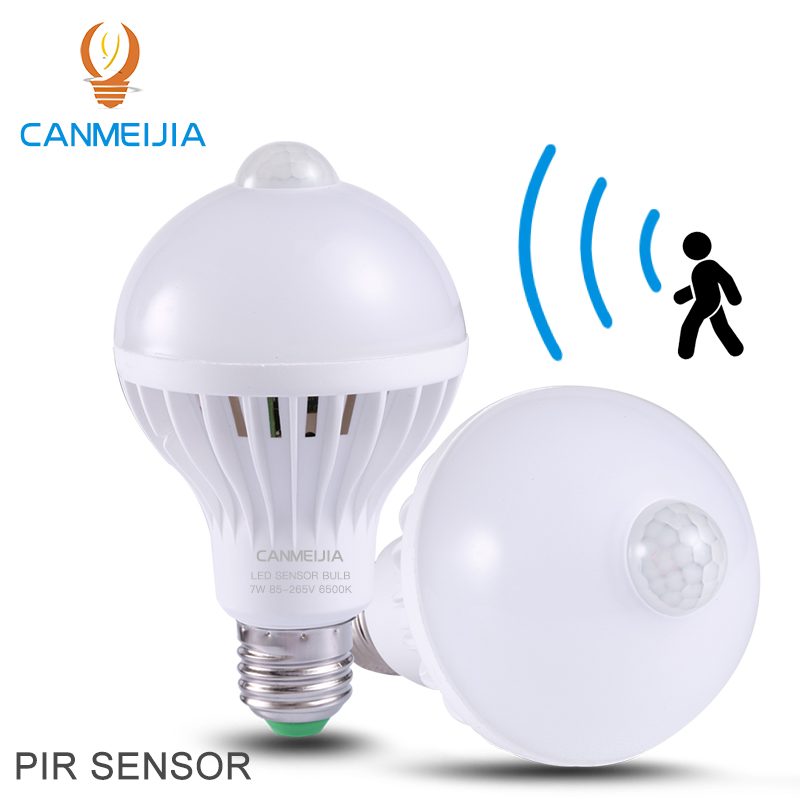 110V 220V E27 B22 3W 5W 7W 9W SKD Sound Induction Sensor Smart Infrared PIR Motion Sensor LED Bulb,Motion Sensor LED Light Bulb