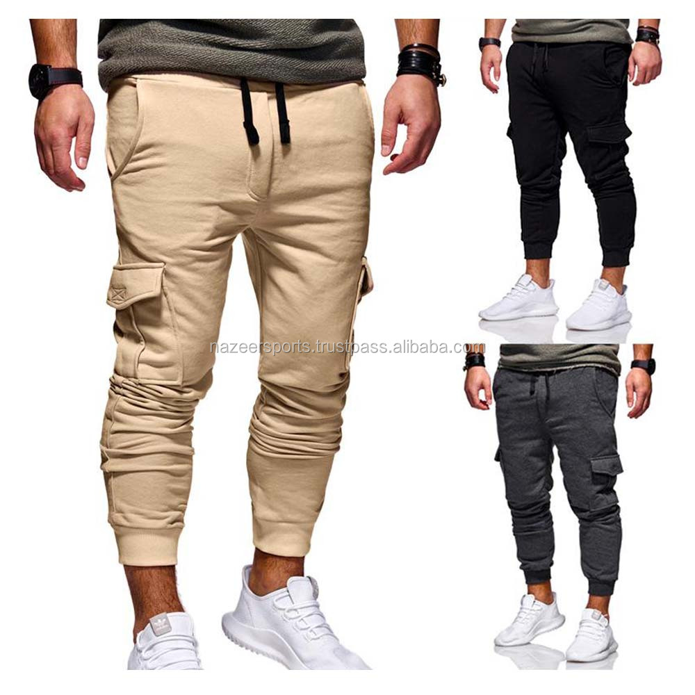 Mode Lage Drop Crotch Harembroek Broek Hip Hop Slim Fit Skinny Joggingbroek Mannen voor