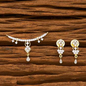 Cz Ethnic Fancy Mangalsutra - 55751
