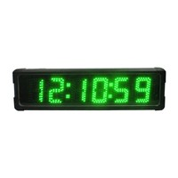 Ganxin Marathon Timer remote control race flat digital clock insert speaker timer clocks