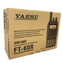 YAESU FT-60R Dual Band Handheld 5W <span class=keywords><strong>VHF</strong></span>/UHF Radio Amatir Transceiver