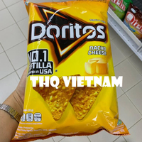 [THQ Vietnam] DORITOS SNACKs WITH NACHO CHEESE, BBQ, ROASTED CORN FLAVORS