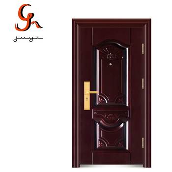 Classic French Style Exterior Position Single Leaf Security Steel Door