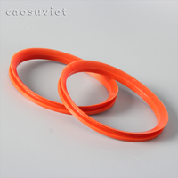 Silicone gasket rubber for food