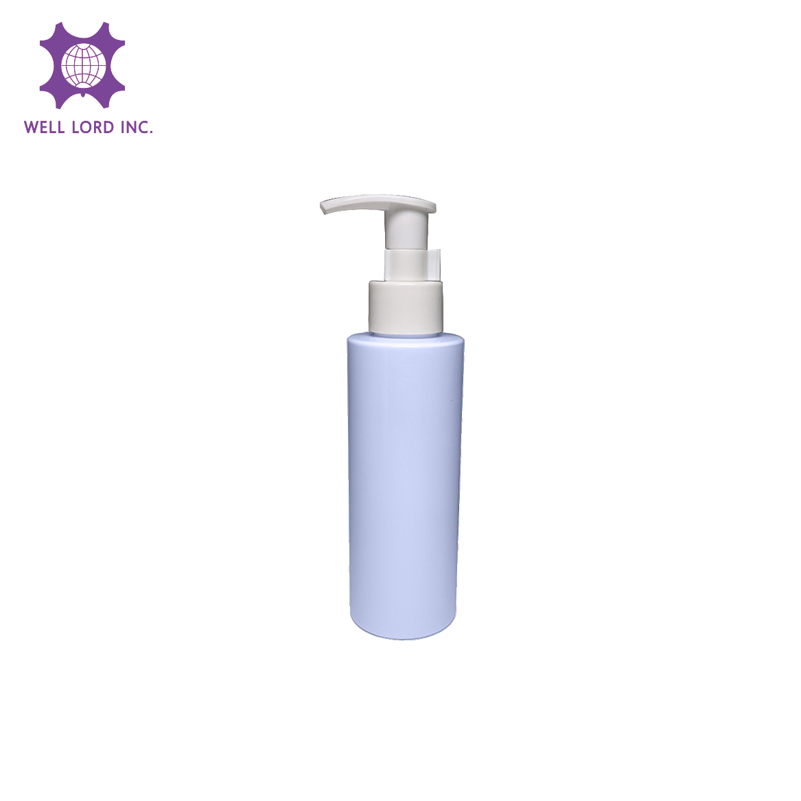 Plastic Cylinder with pump spray 150ml shampoo packaging pump plastic pet bottles