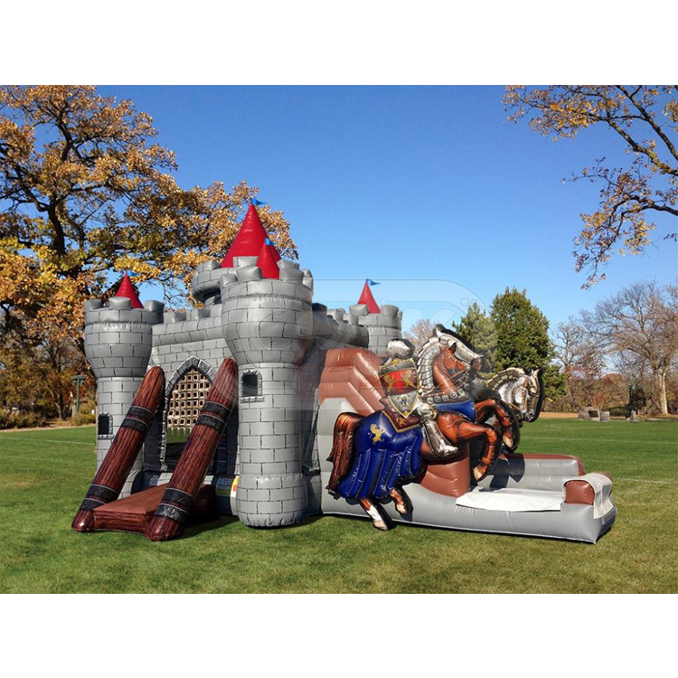 middle ages jumper inflatable bouncer jumping bouncy castle bounce house