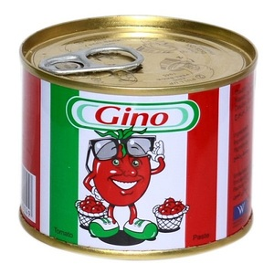 Italian can tomato paste in can - 24 x 400 grams