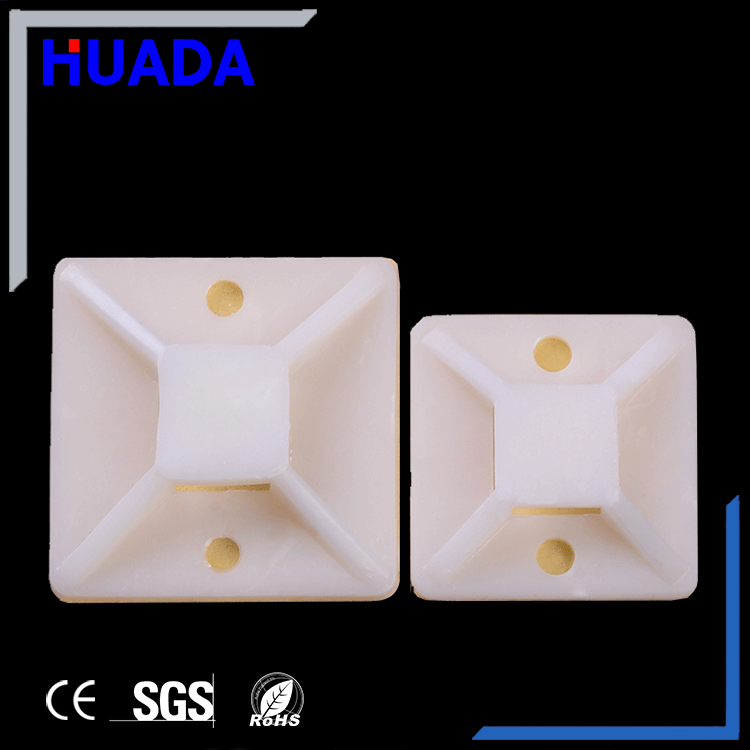 Hot selling nylon saddle type cable tie mounts