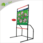 Football Set YumuQ Classic Football And Flying Disc Toss Throwing Game Set 2 Built-In 1 For Outdoor Garden Backyard Carnival Games