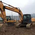 Stable reputation Korea made used Hyundai 215-7, 30ton cralwer excavator /Korean digger/tractor/used walking excavator