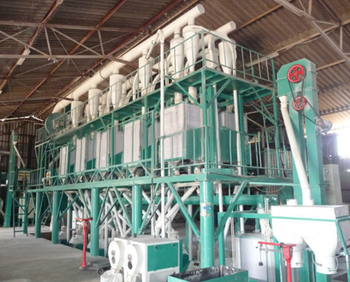 Maize flour milling equipment/Maize flour production process/Complete corn grits