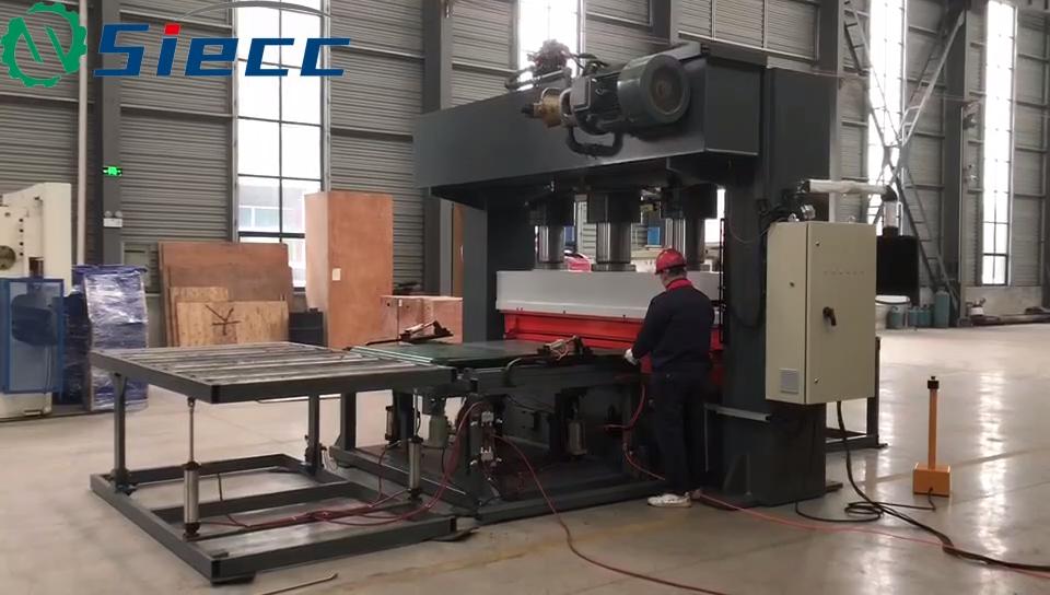 Quatro coluna prensa hidráulica desenho profundo roda do carrinho de mão/carrinho de mão